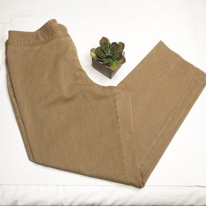 Lane Bryant tapered leg pants, camel colored